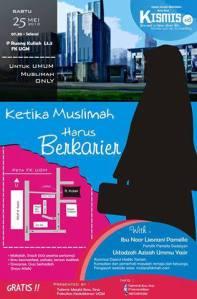Makalah KISMIS 8: Ketika Muslimah HarusBerkarier