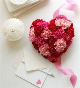 Bunga Cinta Bentuk Hati 8